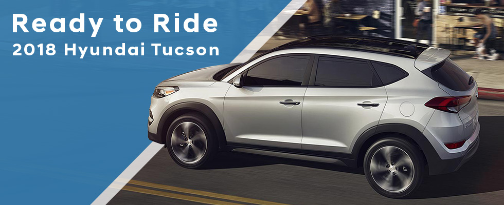 The 2018 Hyundai Tucson is available at Family Hyundai near Chicago