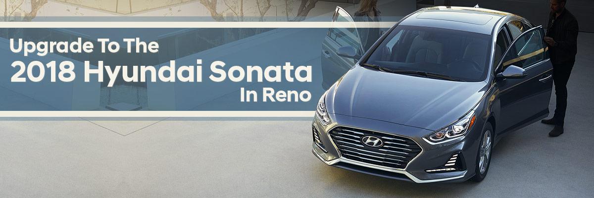 The 2018 Hyundai Sonata is available at Lithia Hyundai of Reno in Reno, NV