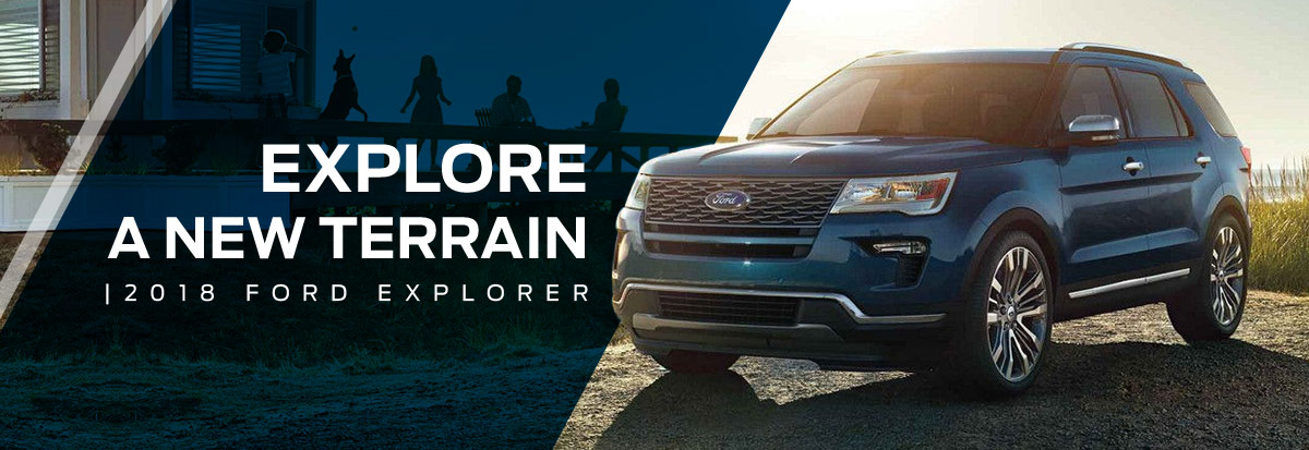 New 2018 Ford Explorer SUV in Waldorf, MD 20601 | Waldorf Ford