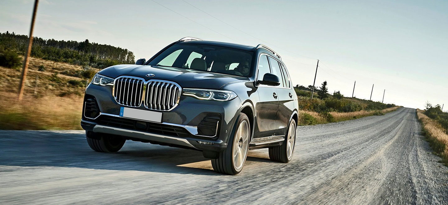 The 2019 BMW X7 is available at our BMW dealership in Columbia, SC