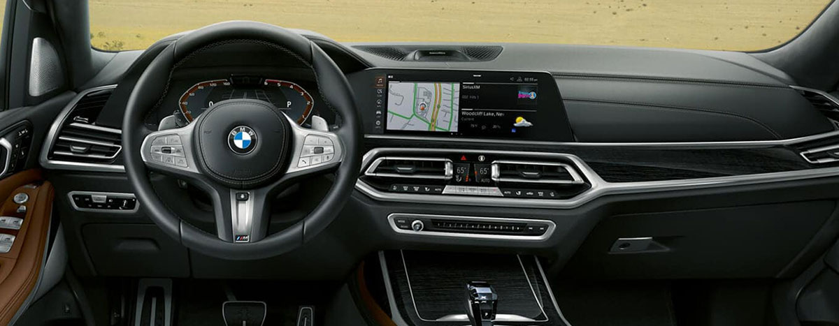 Safety features and interior of the 2019 BMW X7 - available at our BMW dealership