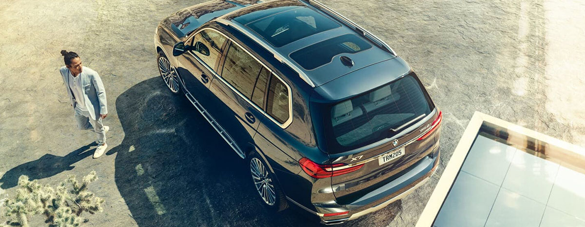 2019 BMW X7 Exterior - Top View - Parked