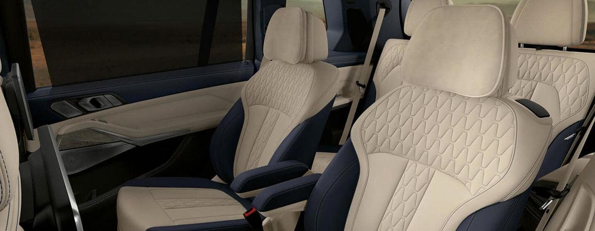 2019 BMW X7 Interior - Seats and Door Panels