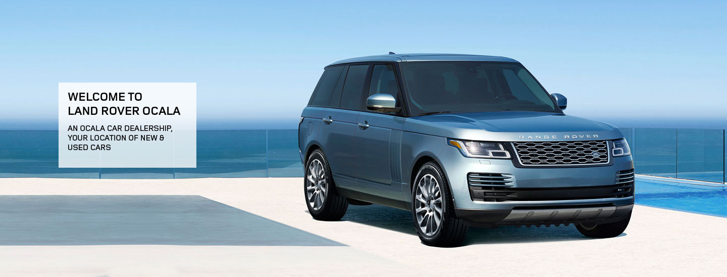 2019 Range Rover in motion available at our Land Rover dealership near Ocala, FL