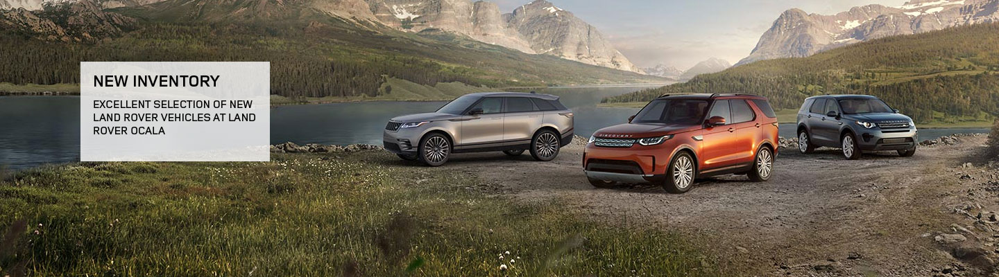 New Land Rover Vehicle line up available at our Land Rover dealership in Ocala, FL