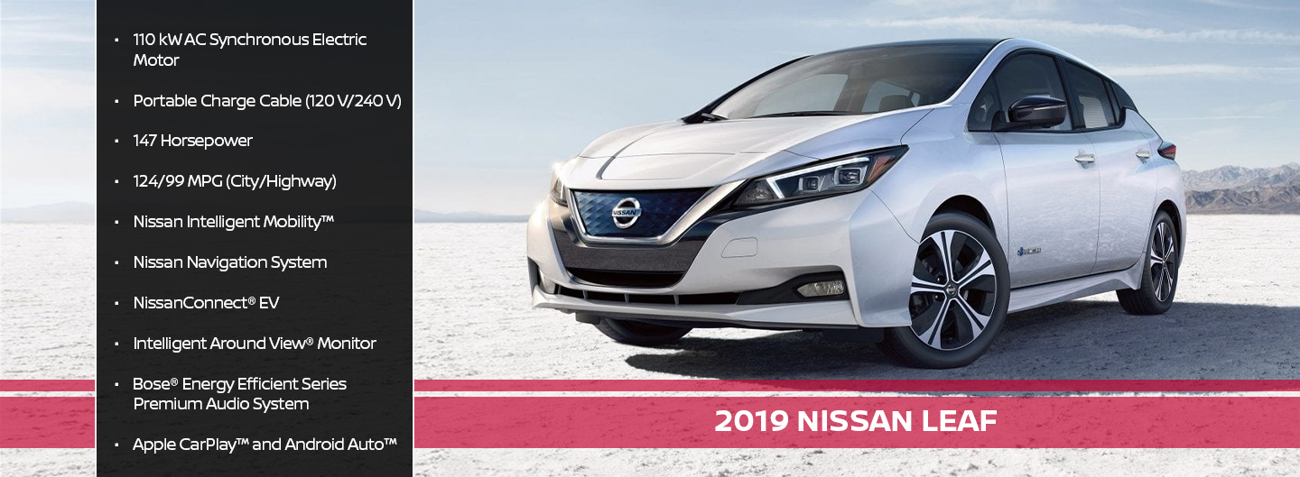 New 2019 Nissan Leaf Offer