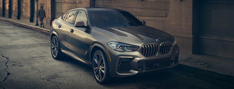 2020 BMW X6 parked