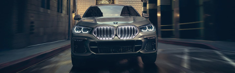 2020 BMW X6 in motion