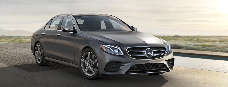 2020 Mercedes-Benz E-Class driving