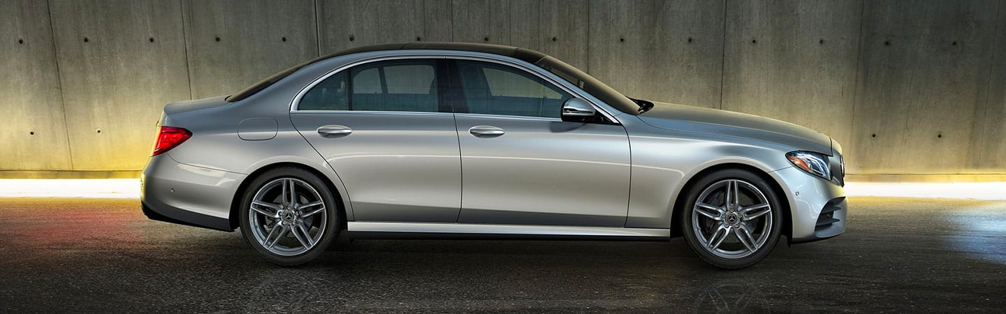 Side view of the 2020 Mercedes-Benz E-Class