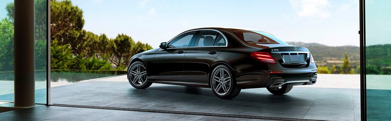 2020 Mercedes-Benz E-Class parked