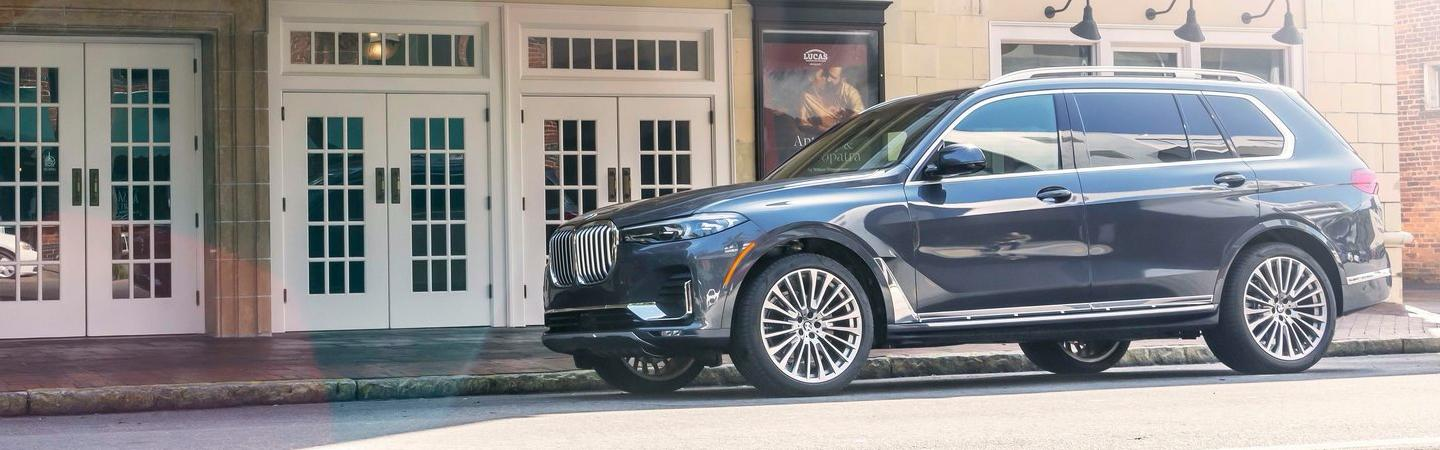 2020 BMW X7 parked on the street