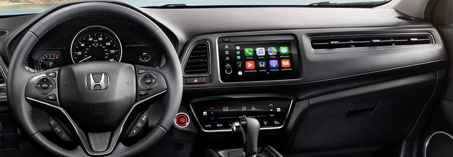 Interior features in the 2020 Honda HR-V