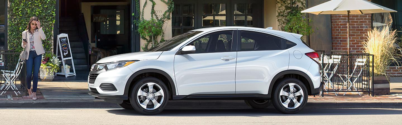 2020 Honda HR-V parked in the city
