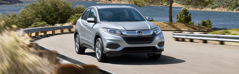 2020 Honda HR-V driving on the highway