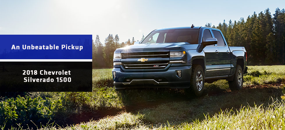 The 2018 Chevy Silverado is available at DeFOUW Automotive in Lafayette, IN