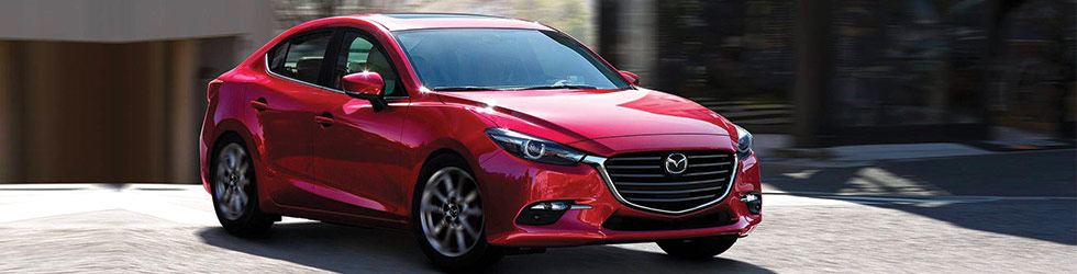 Exterior of the Mazda3 at Ourisman Mazda in Laurel near Columbia MD