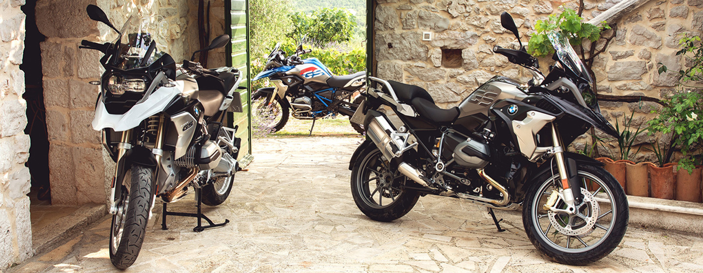 Safety features and interior of the 2018 BMW R 1200 GS - available at Cycle Werks in Barrington, near Barrington, IL