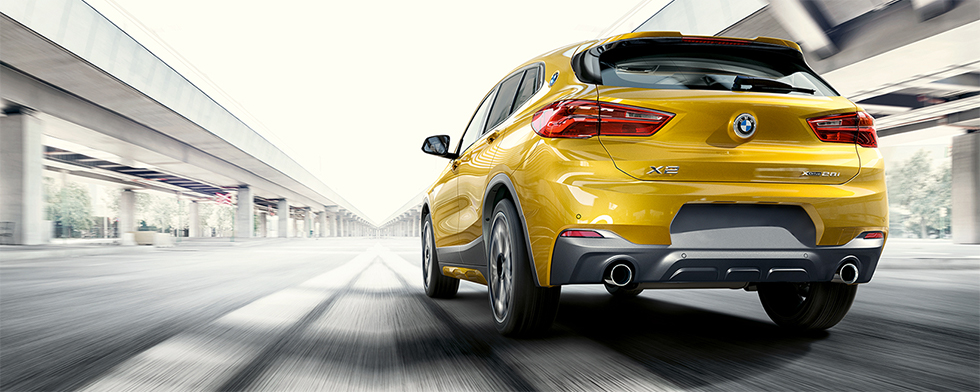 Exterior of the 2018 BMW X2 - available at our BMW dealership near San Francisco, CA.