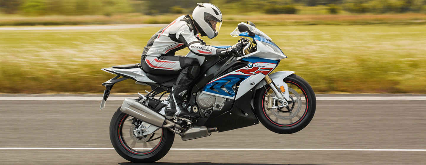 2018 BMW S 1000 RR in motion