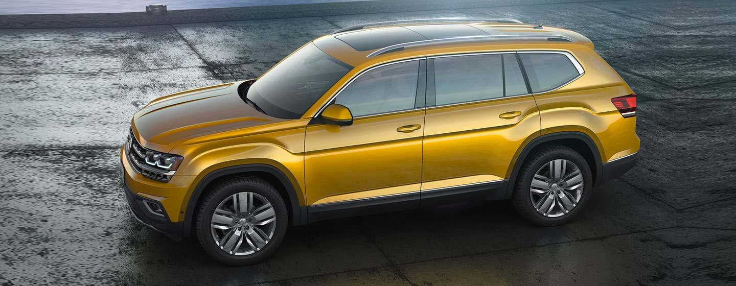 2019 Volkswagen Atlas Exterior - Side - Parked