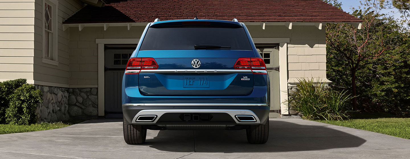 2019 Volkswagen Atlas Exterior - Rear - Parked