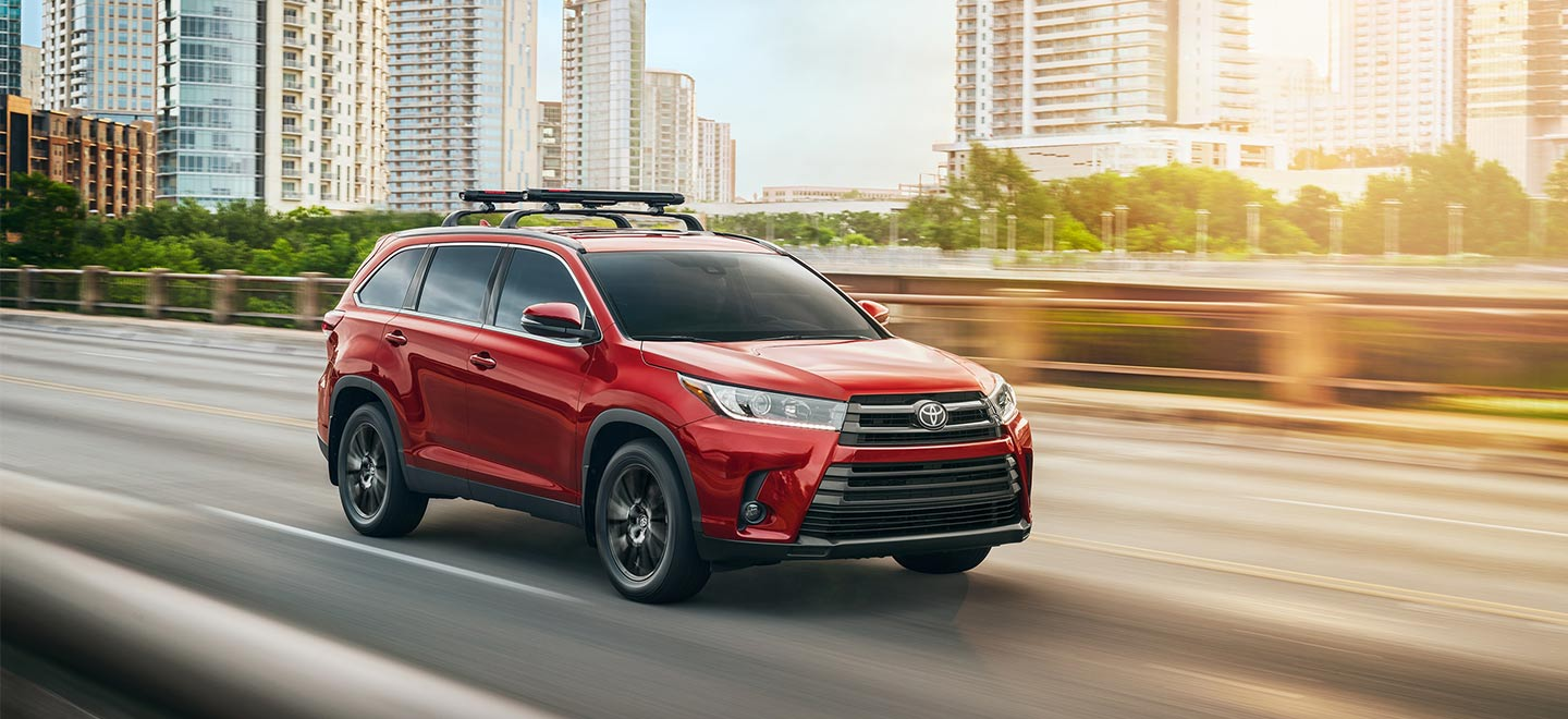 The 2019 Toyota Highlander is available at our Toyota dealership near Charlotte, NC.