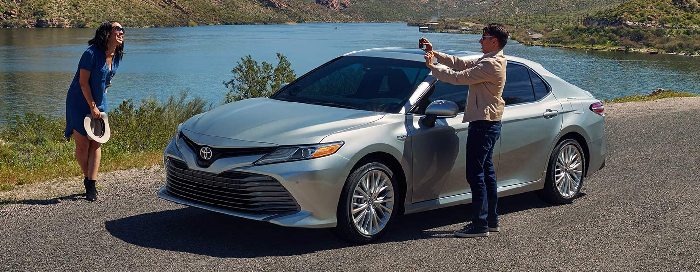 2019 Toyota Camry parked