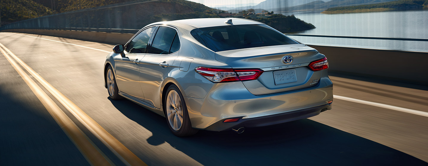 2019 Toyota Camry in motion