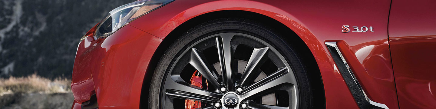 INFINITI Q60 Keeing you safe