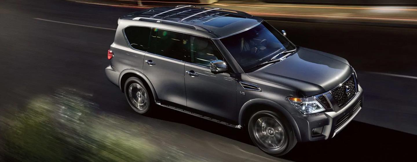 2020 Nissan Armada in motion