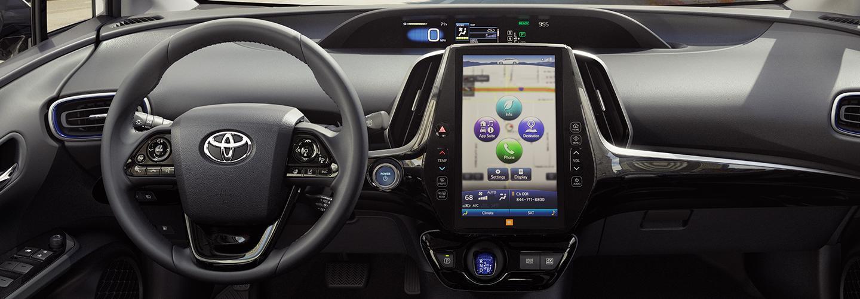 2020 Toyota Prius interior