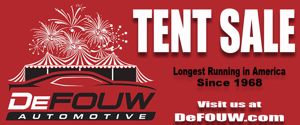 The 51st Annual Tent Sale from DeFOUW Automotive in Lafayette, IN.