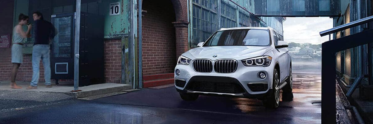 Exterior of the BMW X1 at Hilton Head BMW near Savannah, GA