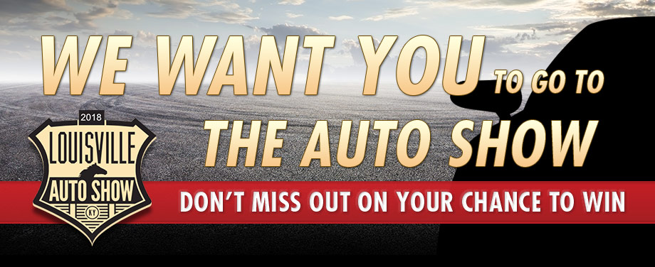 We want you to go to the auto show