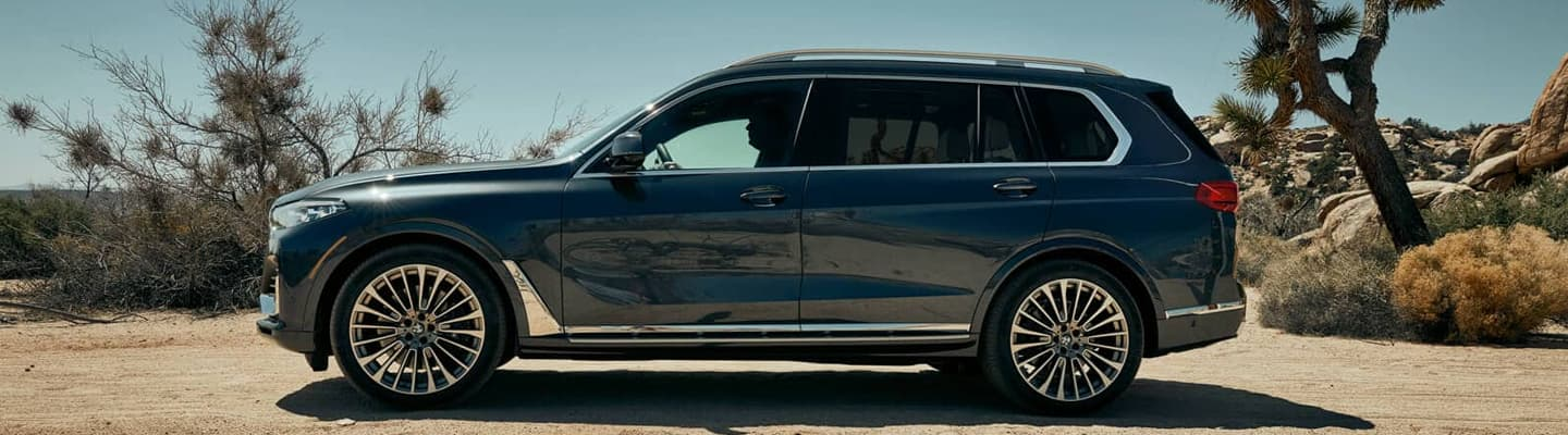2019 BMW X7 Exterior - Side and Wheels