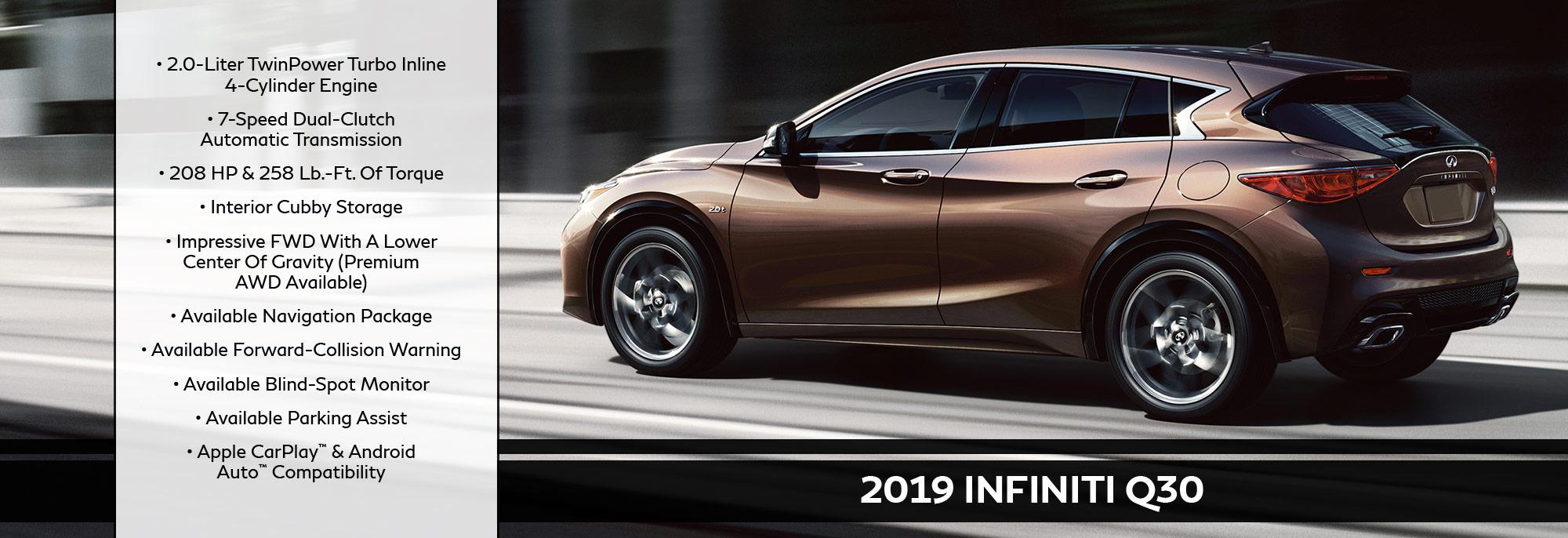 New 2019 INFINITI Q30 Offer