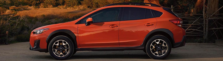 Side view of the 2020 Subaru Crosstrek