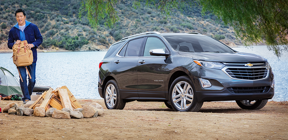The 2018 Chevrolet Equinox is available at DeFOUW Automotive in Lafayette, IN
