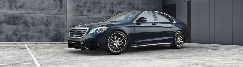2020 Mercedes-Benz parked