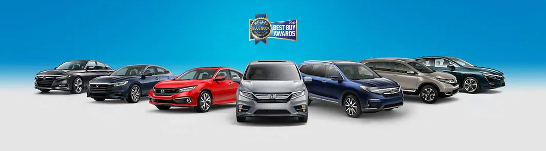Honda Vehicles – KBB Best Buy Award