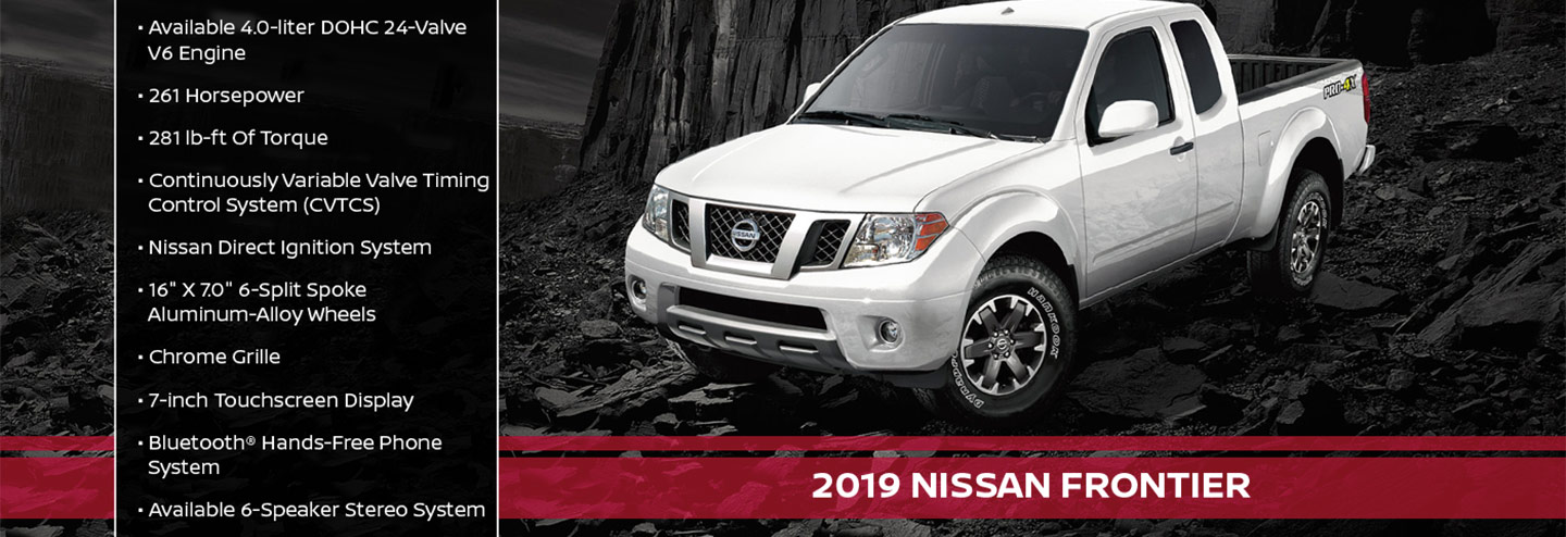 New 2019 Nissan Frontier Offer