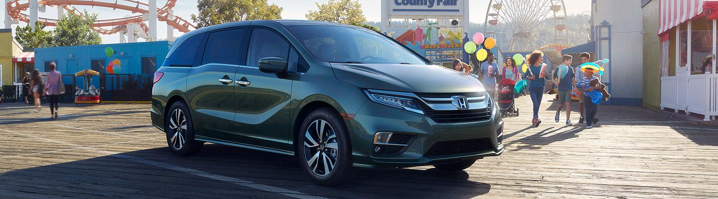 Front view of the side of the 2020 Honda Odyssey near Honda of Gainesville