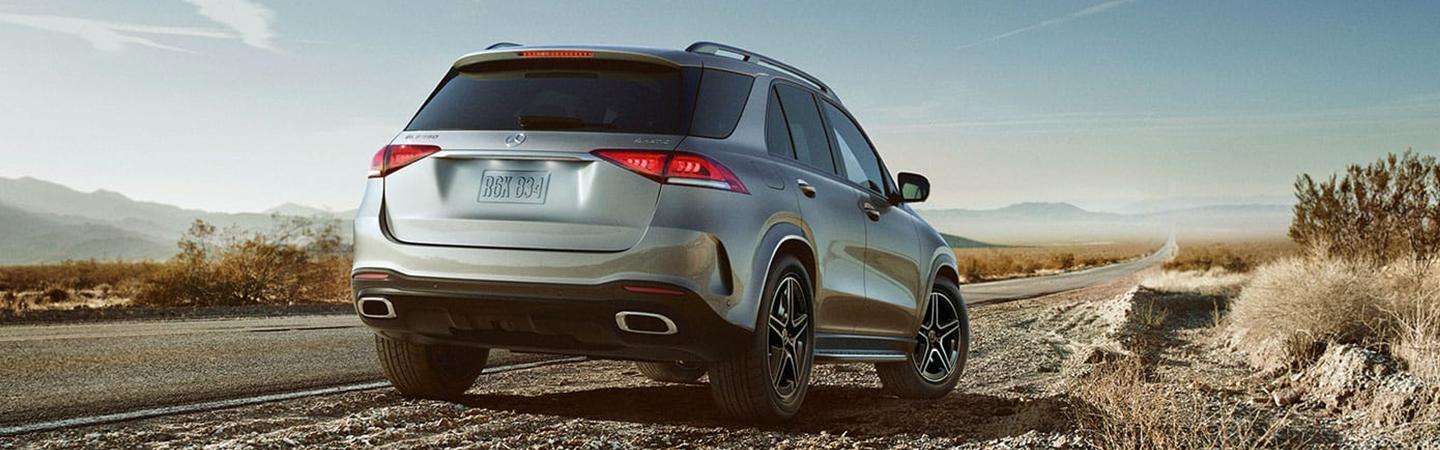 Mercedes-Benz GLE parked on the side of the road