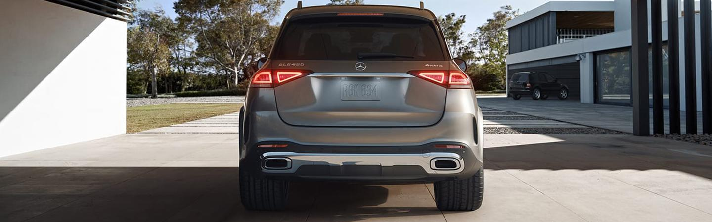 Rear view of the 2020 GLE