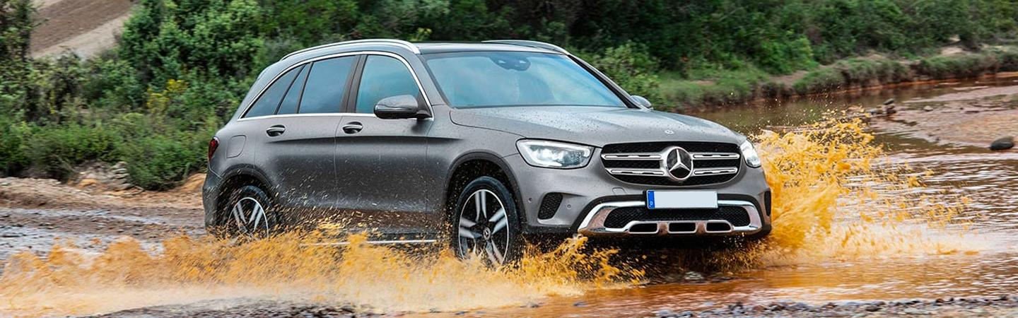 The 2020 GLC in off road terrains