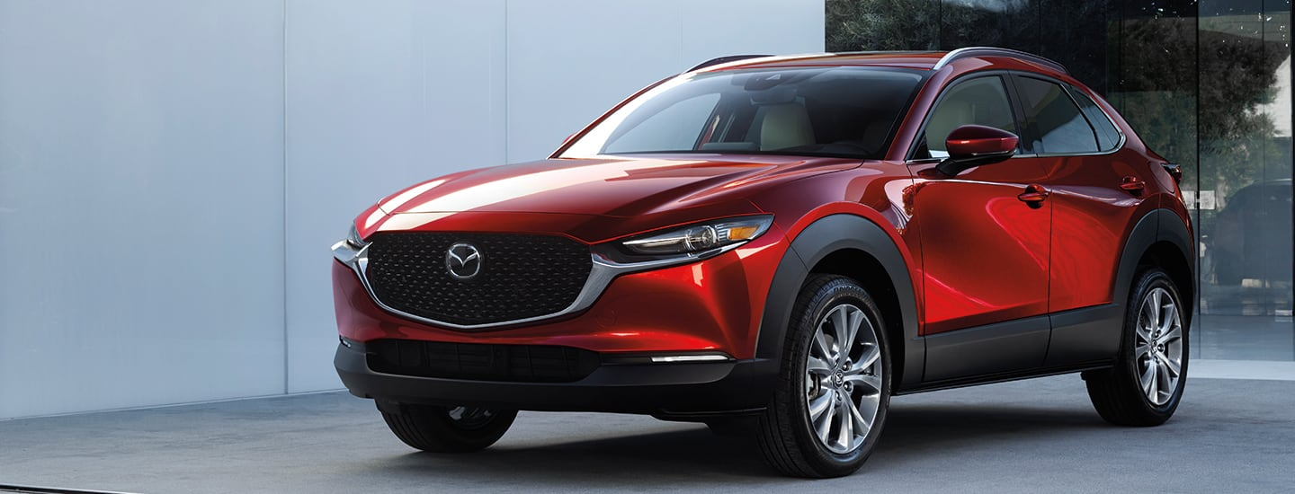 Front view of the 2020 Mazda CX-30 from Naples Mazda