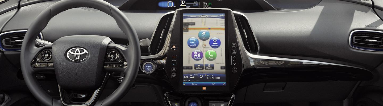 2020 Toyota Prius interior technology