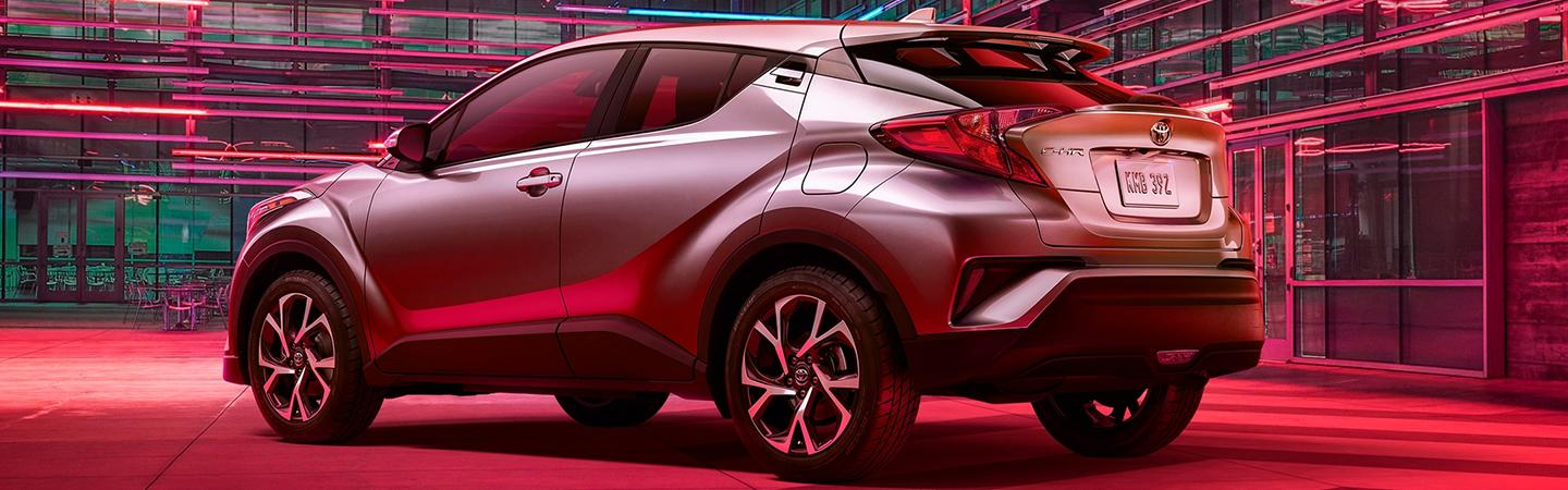 Side profile of a 2020 Toyota C-HR