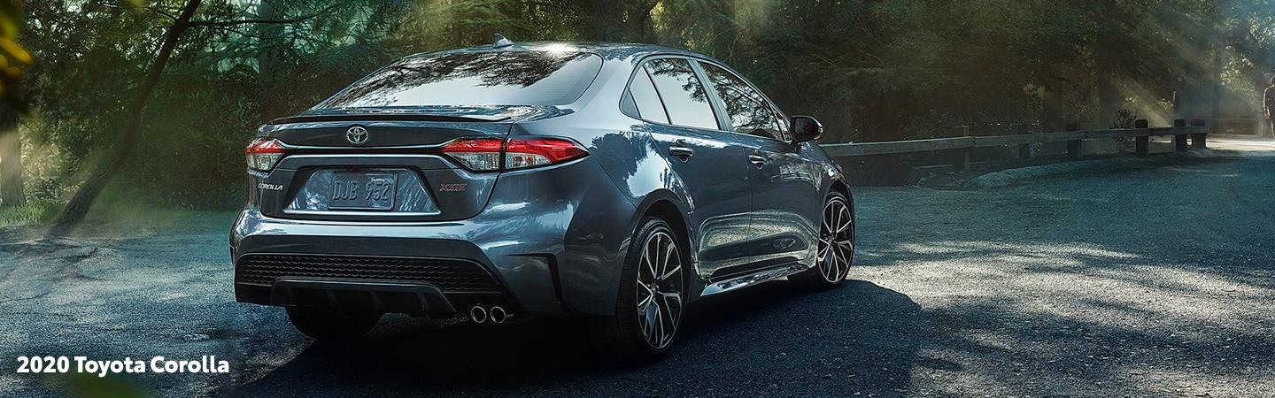 2020 Toyota Corolla in motion